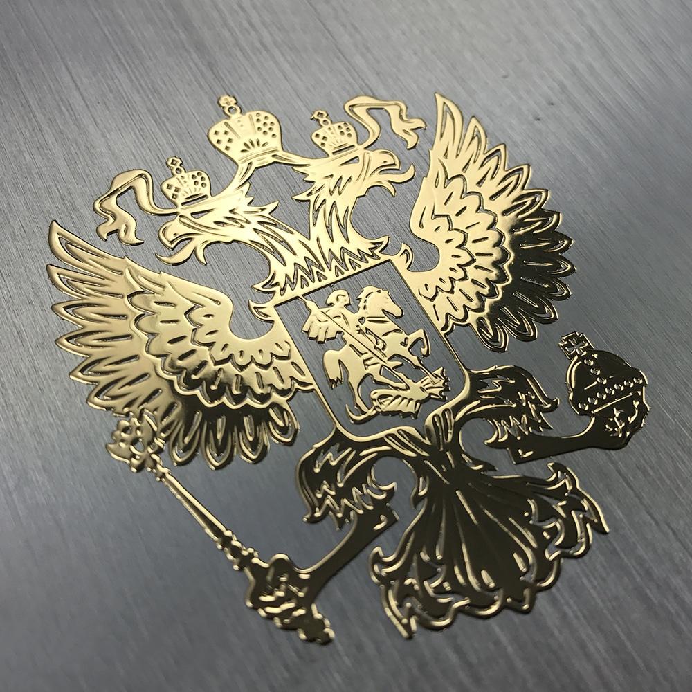 Наклейка на автоГерб России купить на Алиэкспресс