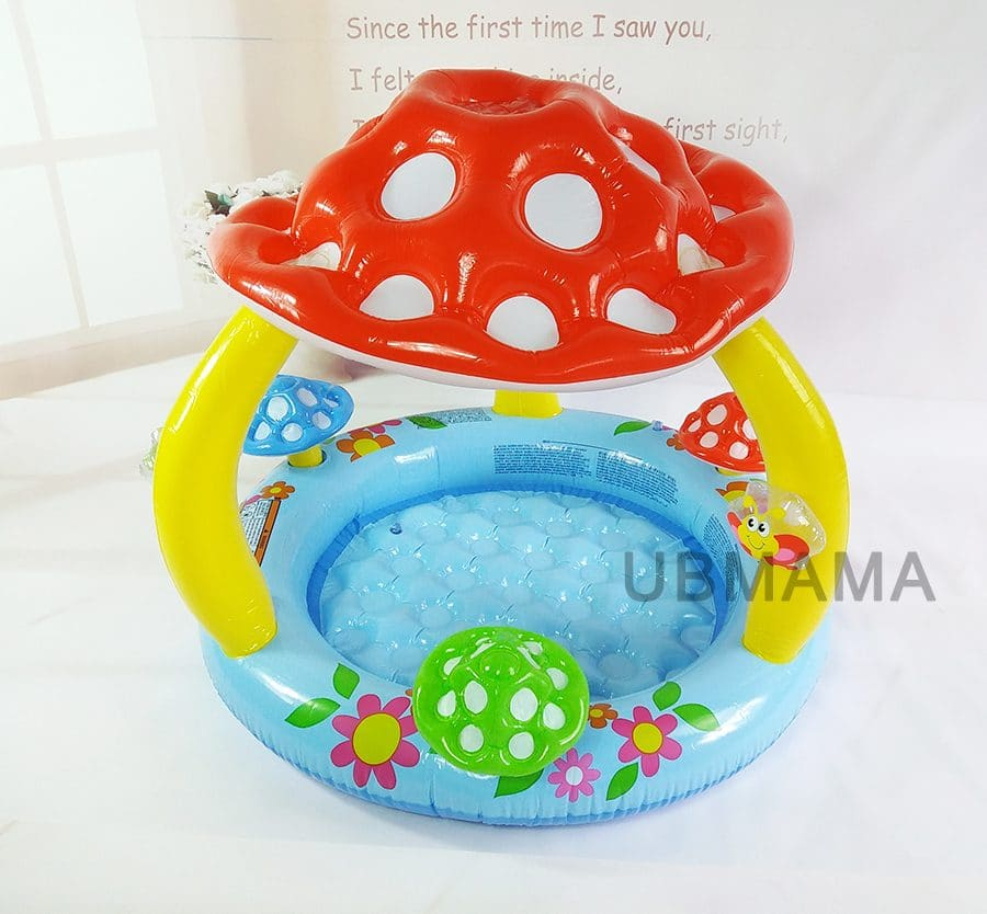 Надувной бассейн с крышей купить на Алиэкспресс