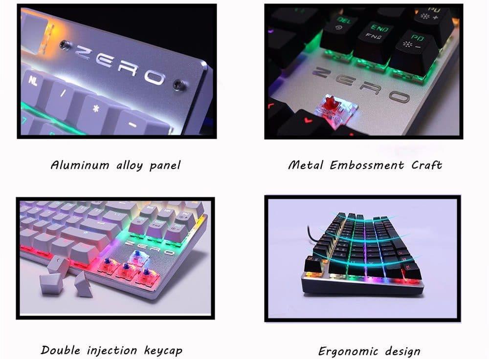 Механическая клавиатура с подсветкой купить на Алиэкспресс
