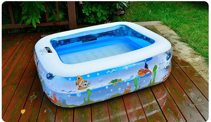 Надувной прямоугольный бассейн купить на Алиэкспресс
