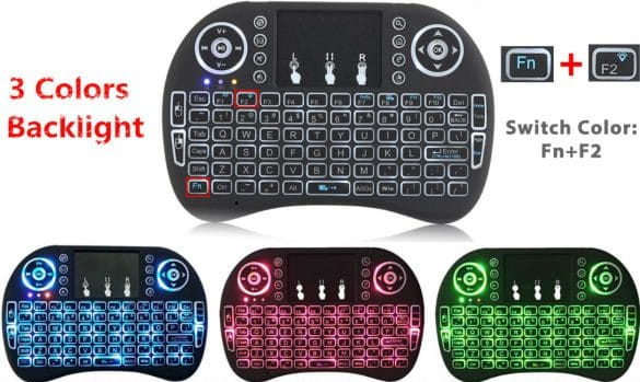 Беспроводная клавиатура с подсветкой купить на Алиэкспресс