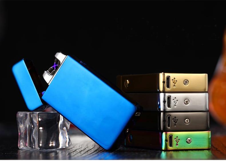 Электроимпульсная USB-зажигалка купить на Алиэкспресс