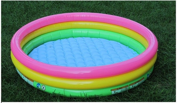 Бассейн с надувным дном купить на Алиэкспресс