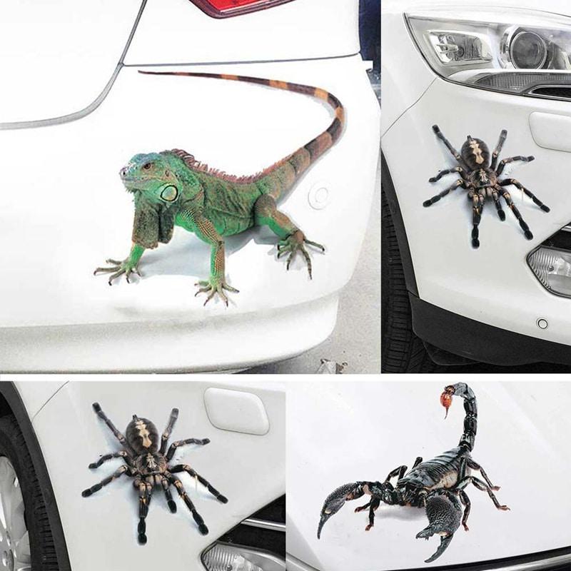 3D наклейка на авто купить на Алиэкспресс