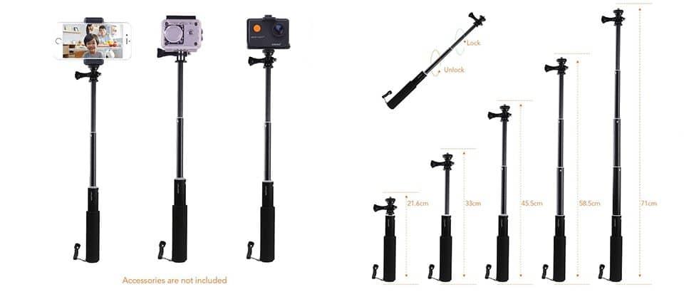Селфи-палка для экшн-камеры (Go Pro) купить на Алиэкспресс