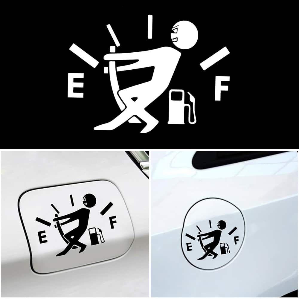 Наклейка на бензобак автомобиля купить на Алиэкспресс
