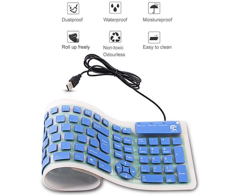 Силиконовая клавиатура купить на Алиэкспресс