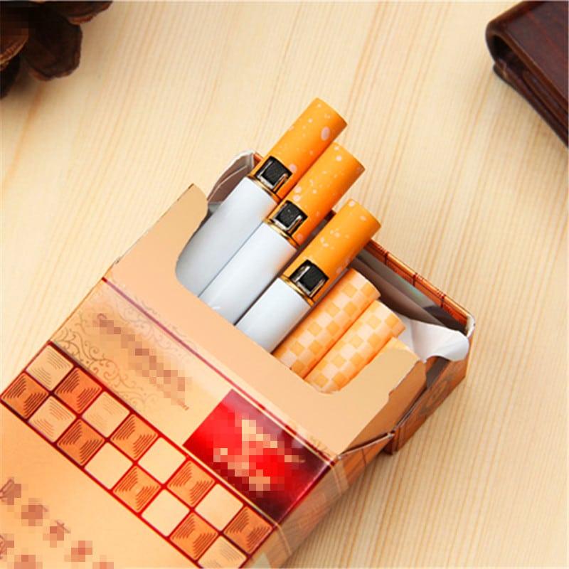 Зажигалка в виде сигареты купить на Алиэкспресс