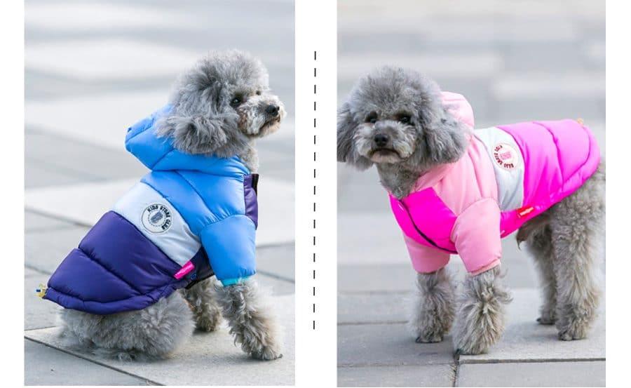 Куртка с капюшоном для собаки купить на Алиэкспресс