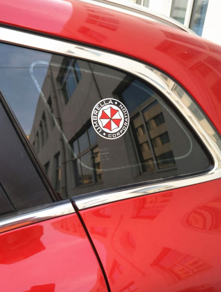 Наклейка на авто Umbrella купить на Алиэкспресс