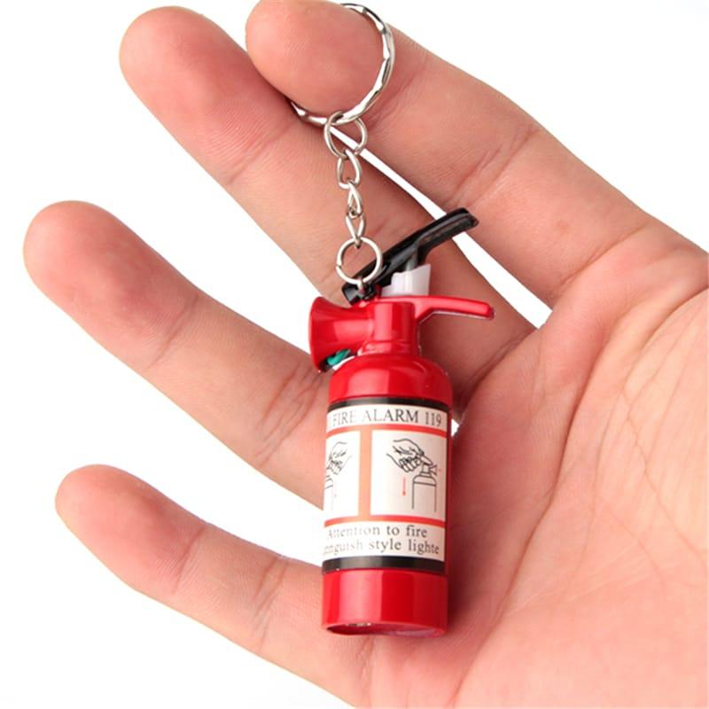Зажигалка-брелок в виде огнетушителя купить на Алиэкспресс