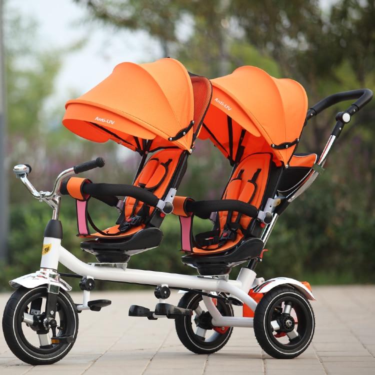 Детский велосипед для двоих купить на Алиэкспресс