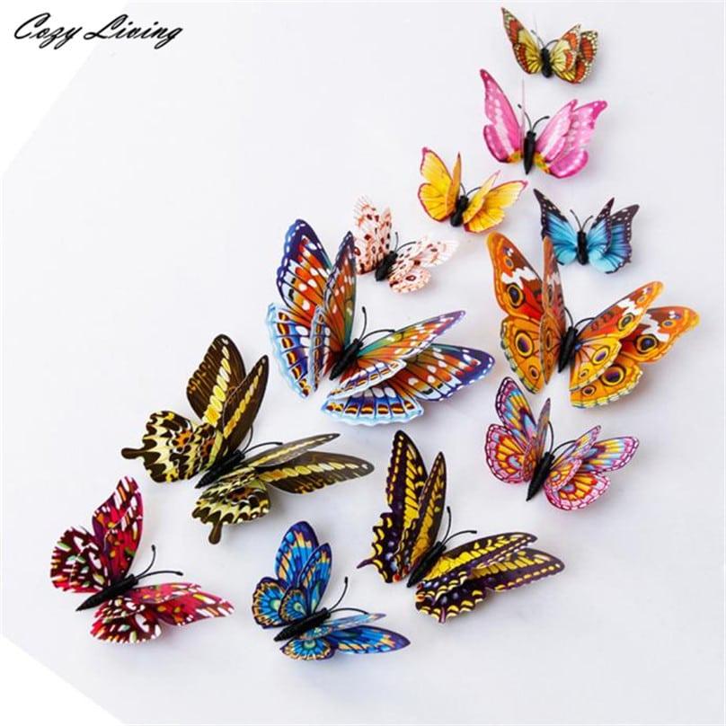 Светящиеся магниты-бабочки купить на Алиэкспресс