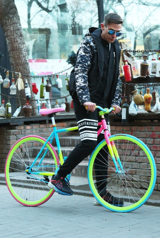 Яркий велосипед X-Front купить на Алиэкспресс