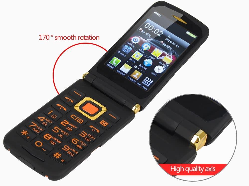 Кнопочный телефон - раскладушка купить на Алиэкспресс