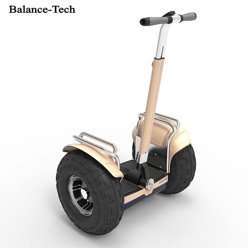 Гироскутер с большими колесами и ручкой купить на Алиэкспресс