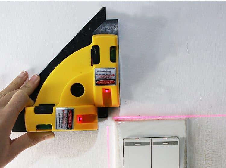Лазерный уровень - угол в 90 градусов купить на Алиэкспресс