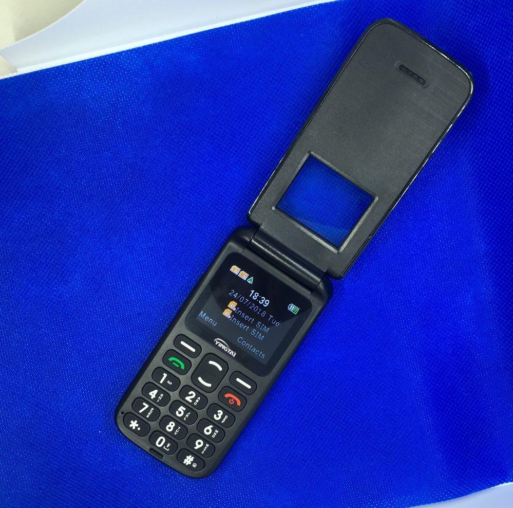 Мобильный кнопочный телефон - раскладушка купить на Алиэкспресс