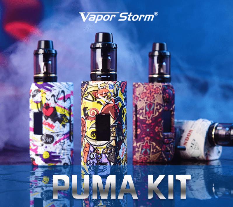 Электронная сигарета Vapor Storm с яркими расцветками купить