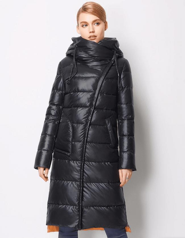 Куртка до коленкупить на Алиэкспресс