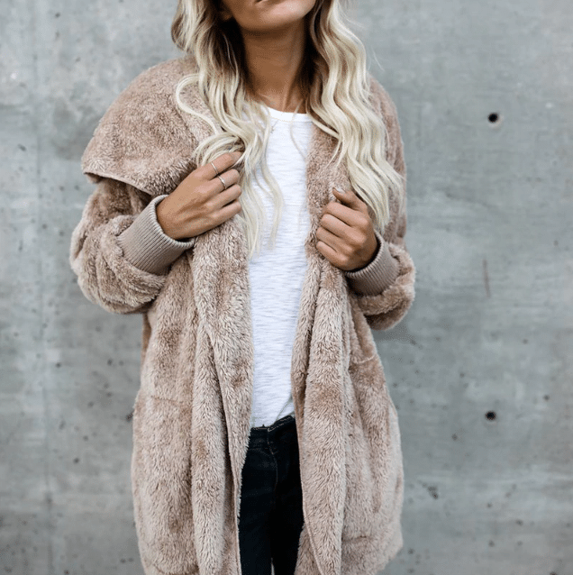Мягкое пальто-пыльник купить на Алиэкспресс