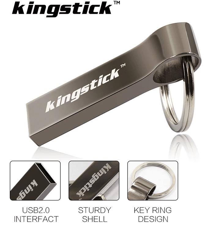 Металлическая флешка Kingstick купить на Алиэкспресс