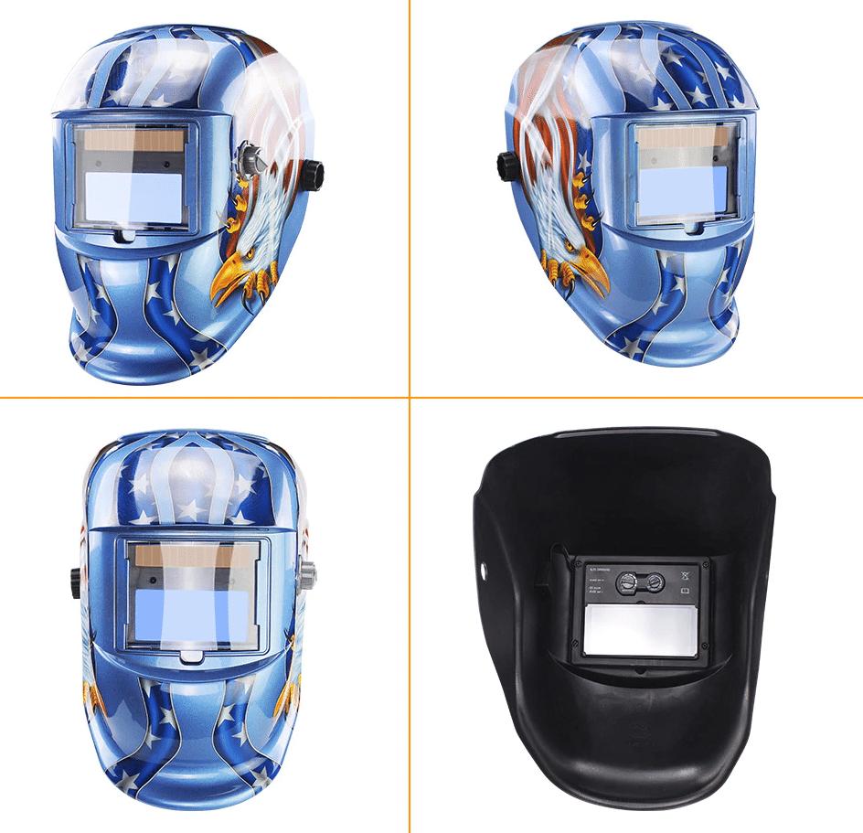 Раскрашенная сварочная маска TRUSOXIN купить на Алиэкспресс