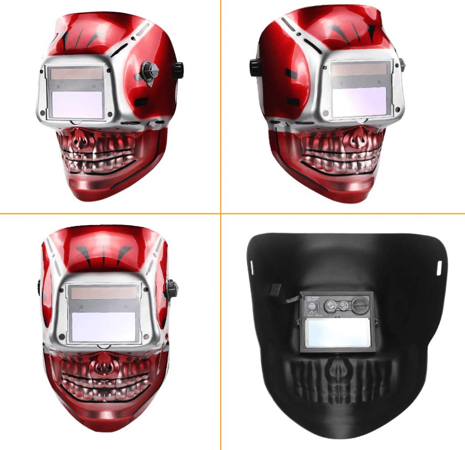 Сварочная маска-череп TRUSOXIN купить на Алиэкспресс