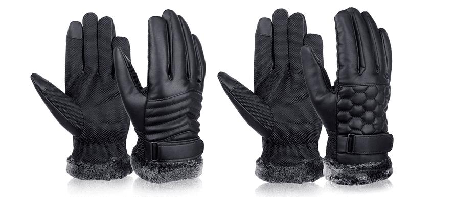 Нескользящие перчатки для сенсорных экранов Vbiger купить на Алиэкспресс