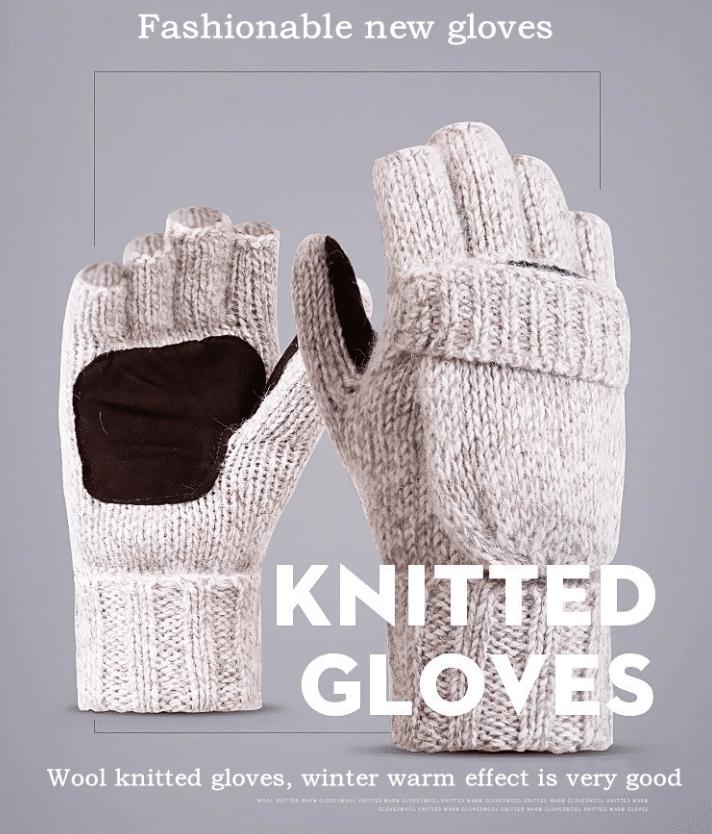 Шерстяные перчатки-варежки YRRETY купить на Алиэкспресс
