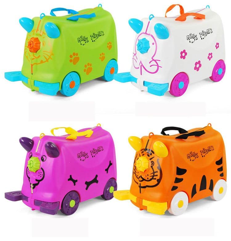Детский чемодан-машинка на колесиках INFEYLAY купить на Алиэкспресс