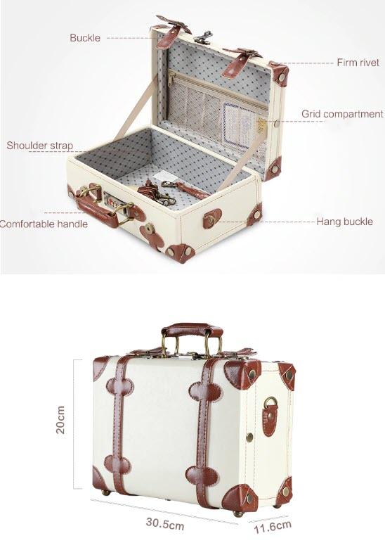 Винтажный ретро-чемодан UNIWALKER купить на Алиэкспресс