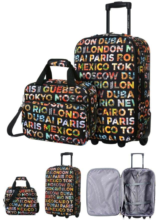 Чемодан и сумка DAVID JONES: 2 в 1 купить на Алиэкспресс