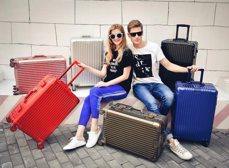 Металлический чемодан на колесах Y-ROAD TRAVEL купить на Алиэкспресс