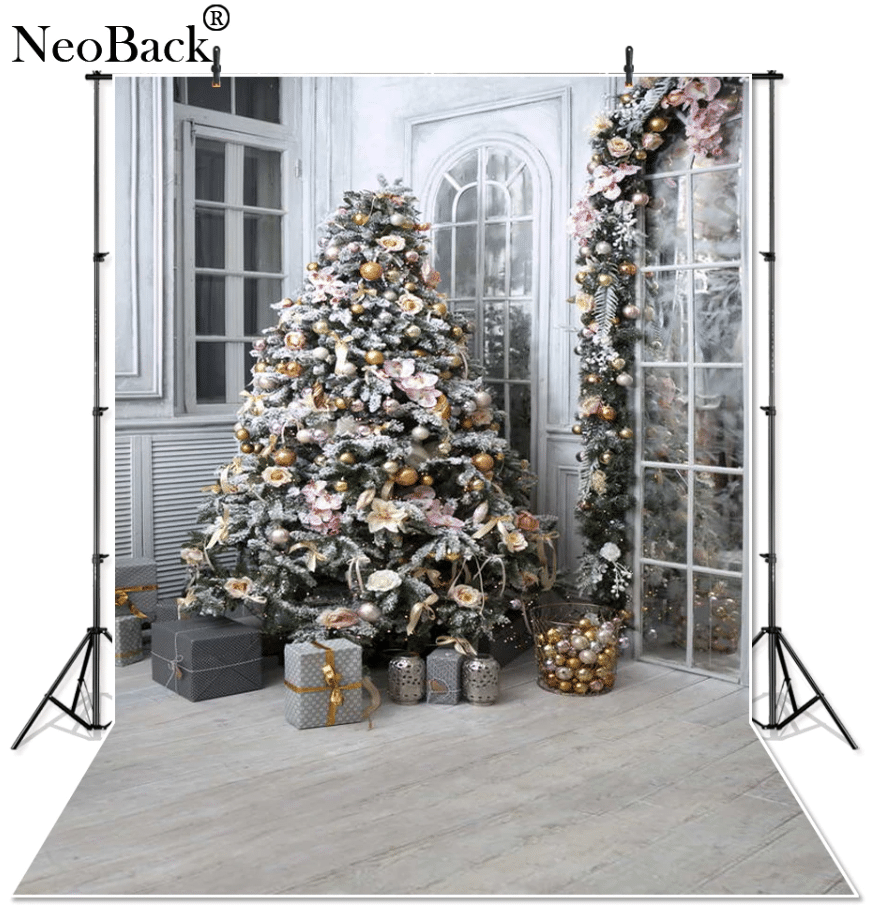 Новогодний фон для фотозоныNeoBack купить на Алиэкспресс
