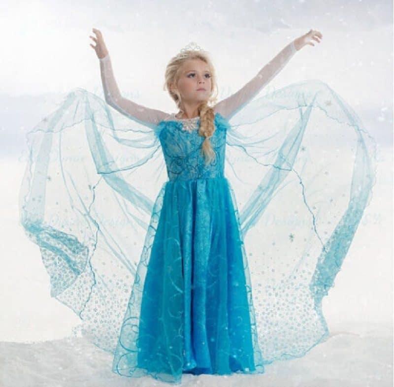 Костюмы принцесс для девочек на Новый год купить на Алиэкспресс