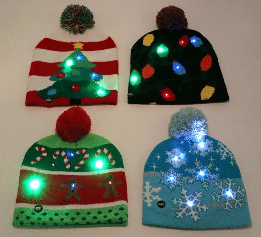 Светодиодная шапка с подсветкой Ourwarm купить на Алиэкспресс