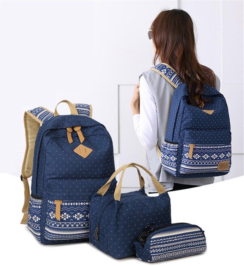 Рюкзак + сумка + косметичка Rinhoo купить на Алиэкспресс