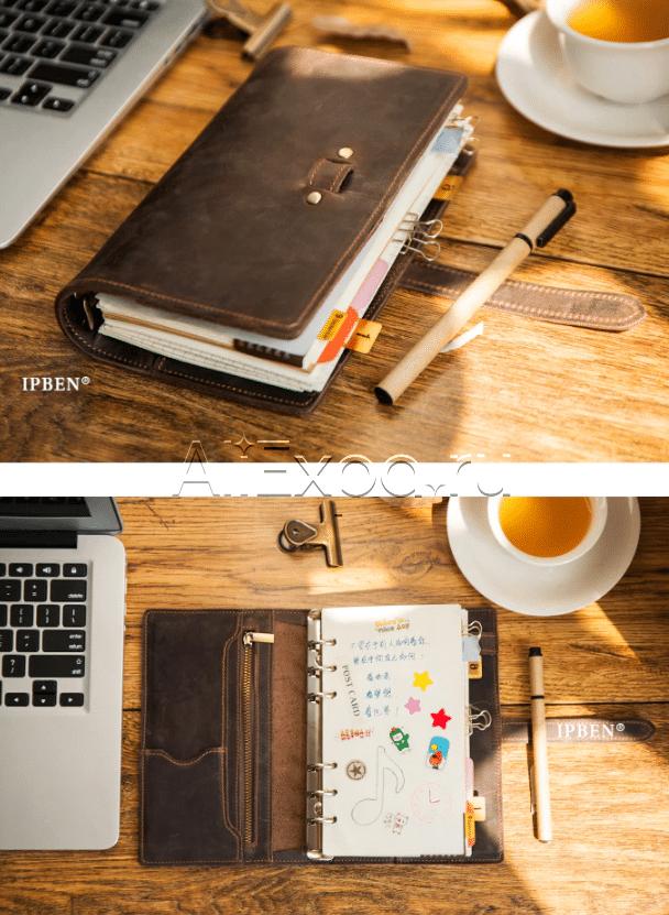 Кожаный винтажный ежедневник купить на Алиэкспресс