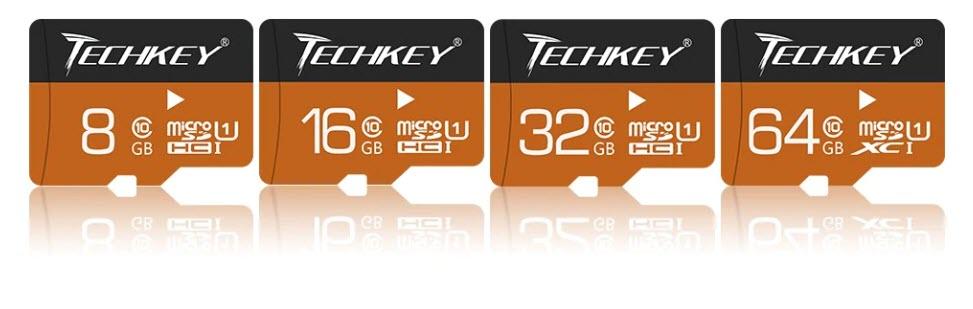 Карта памяти TECHKEY для видеорегистратора или фотоаппарата купить на Алиэкспресс