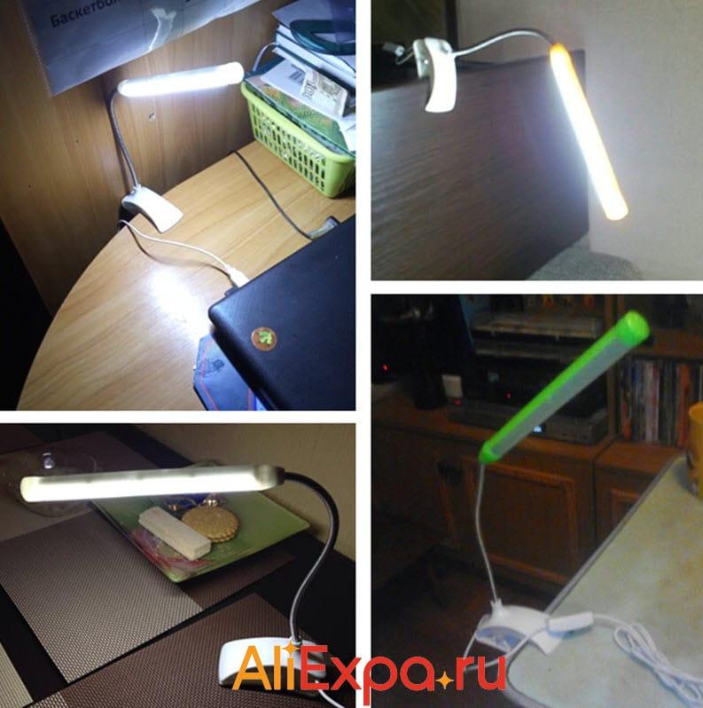 Светодиодная настольная лампа на прищепкеAIFENG | Подарки на 23 февраля коллегам с Алиэкспресс