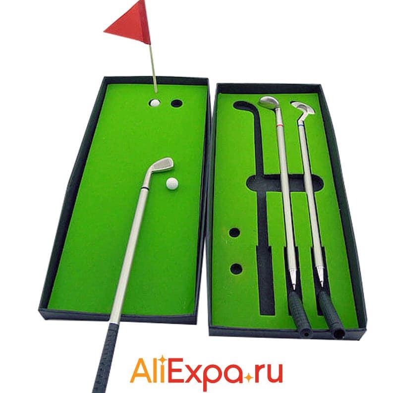 Набор для мини-гольфа Herrick | Подарки на 23 февраля коллегам с Алиэкспресс
