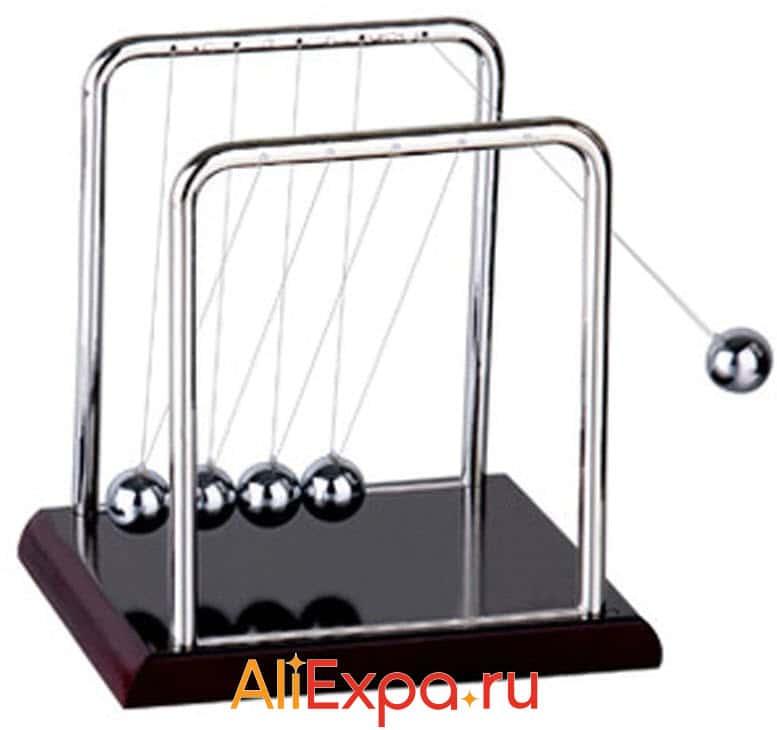 Маятник шары Ньютона TiTa-Dong | Подарки на 23 февраля коллегам с Алиэкспресс