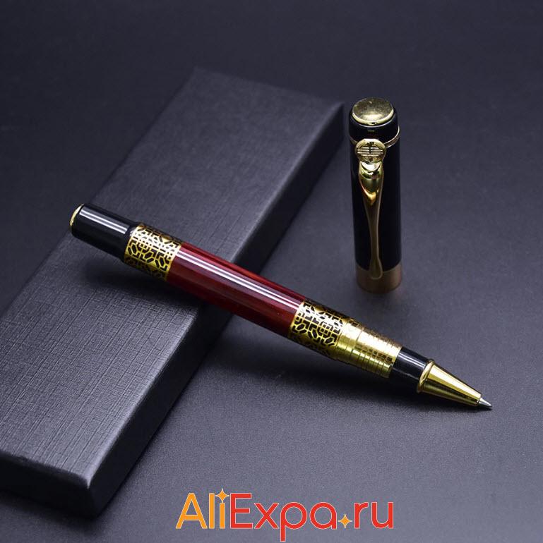 Подарочная шариковая ручка GUOYI | Подарки на 23 февраля коллегам с Алиэкспресс