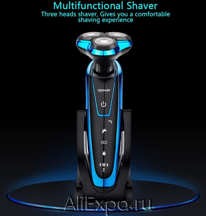 Электробритва 3 в 1 с насадками-триммерами TINTON LIFE купить на Алиэкспресс