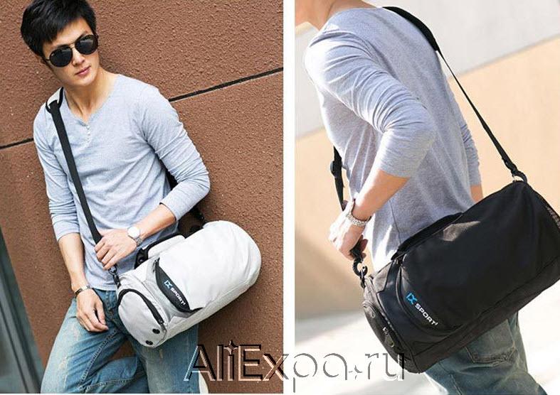 Стильная спортивная мужская сумка IX купить на Алиэкспресс