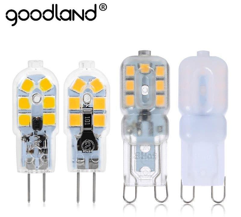 Светодиодная лампа с цоколем G Goodland купить на Алиэкспресс