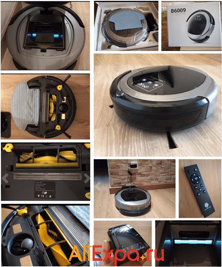 Мощный робот-пылесос LIECTROUX B6009 с системой навигации купить на Алиэкспресс