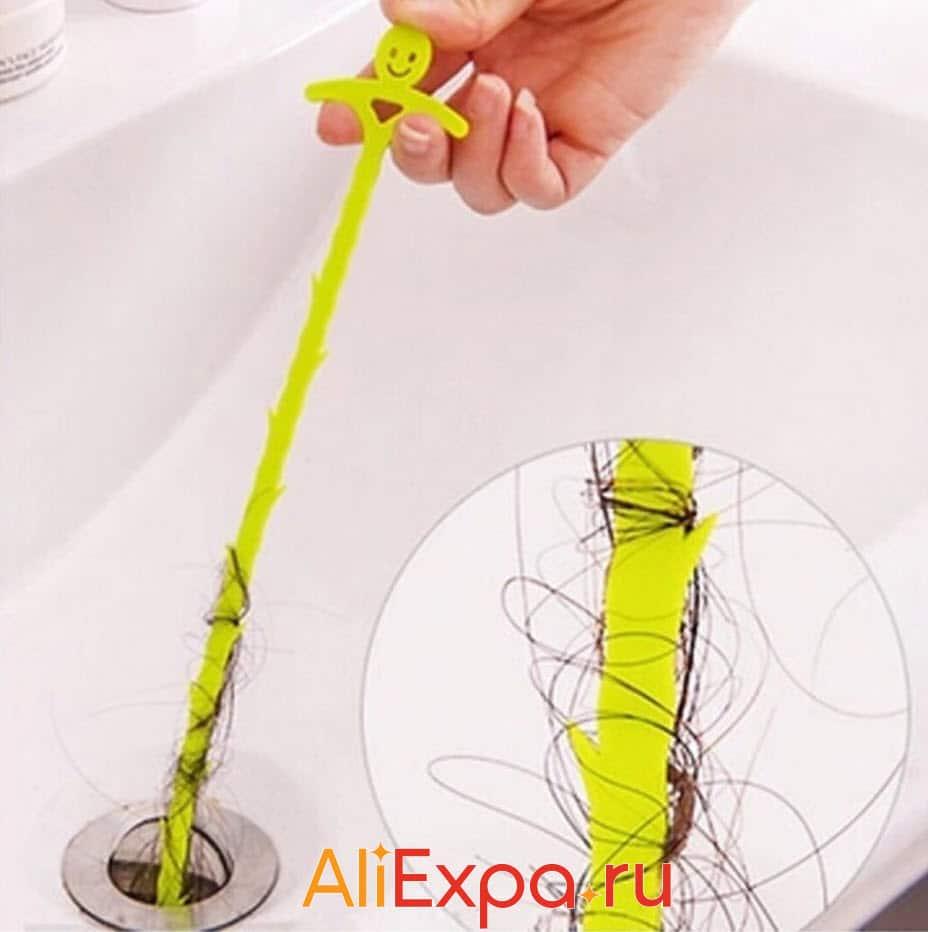 Очиститель волос в ванне и раковине | Товары для уборки дома
