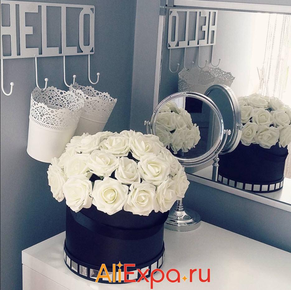 Искусственные розы для декора | Товары для декора дома